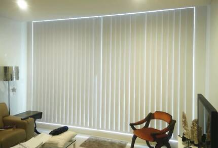 Vertical Blinds + Installation