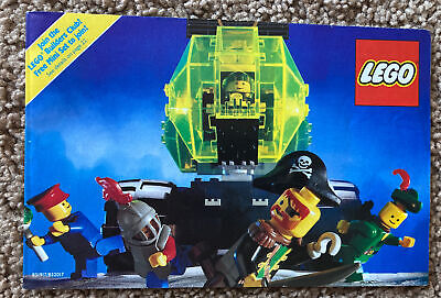vintage lego instruction manuals Sets Collector's Guide Club Pirates Castle Town