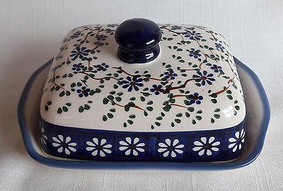 (eu0201) Bunzlauer Keramik - wunderschöne Butterdose für 250 Gramm Butter