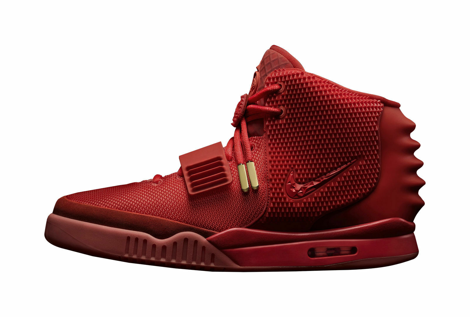 Nike Air Yeezy 2 Red October Kanye West Size 10 With Receipt 100 ... c7326636f