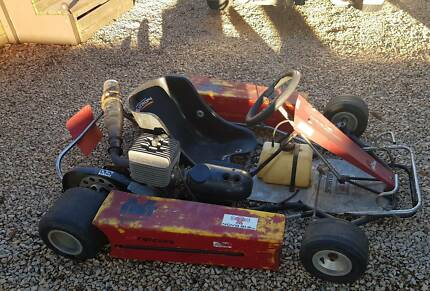 yamaha kt100 go kart old style and yz80 1986