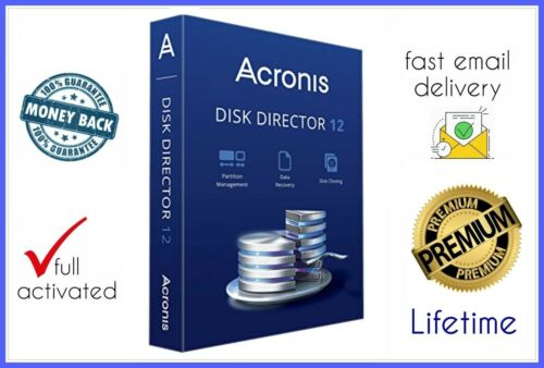 Acronis Disk Director 12 ✔️ Fast Delivery 🔑 Lifetime Activation 🚫💯🔥