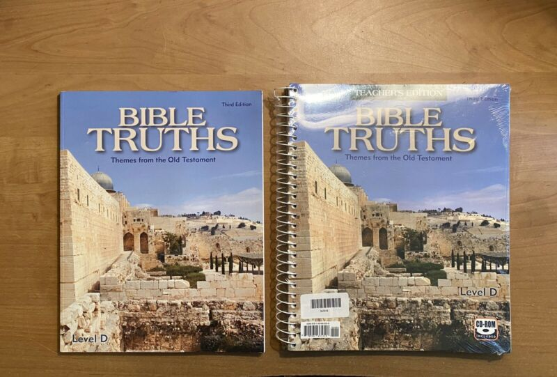 Bju Press Bible Truths: Themes From The Old Testament (3rd Ed.) With Cd-rom
