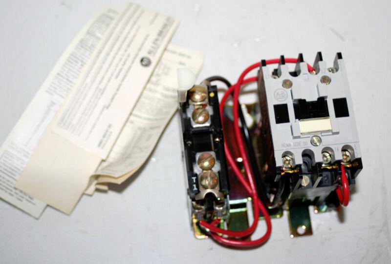 Full Voltage Starter Allen-Bradley 509-TOXA Ser B Size 00  NEW