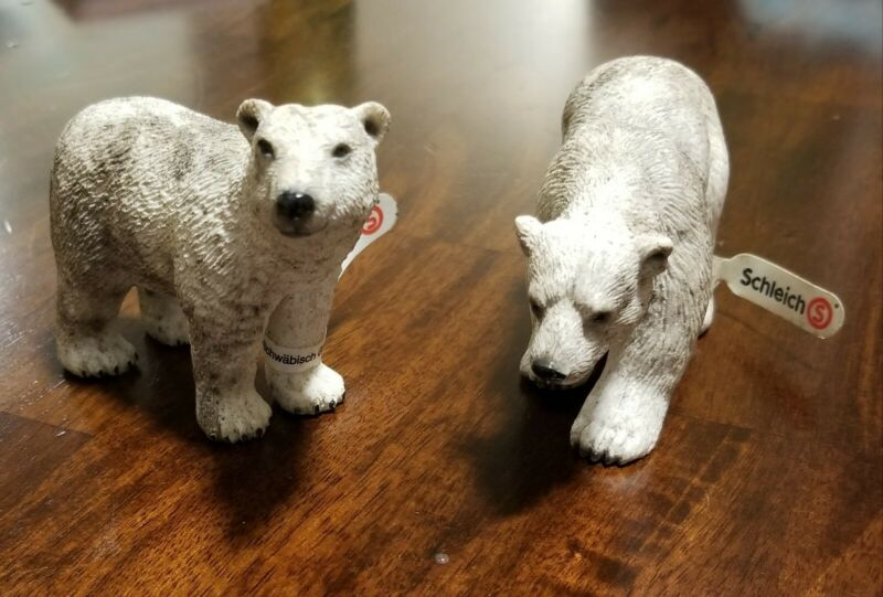 SCHLEICH Polar Bear Brothers