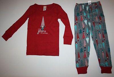 NEW Gymboree Outlet Girl Holiday Pajamas PJs 3 4 5 6 7 8 10 12 Gnome  - Girl Holiday Pajamas