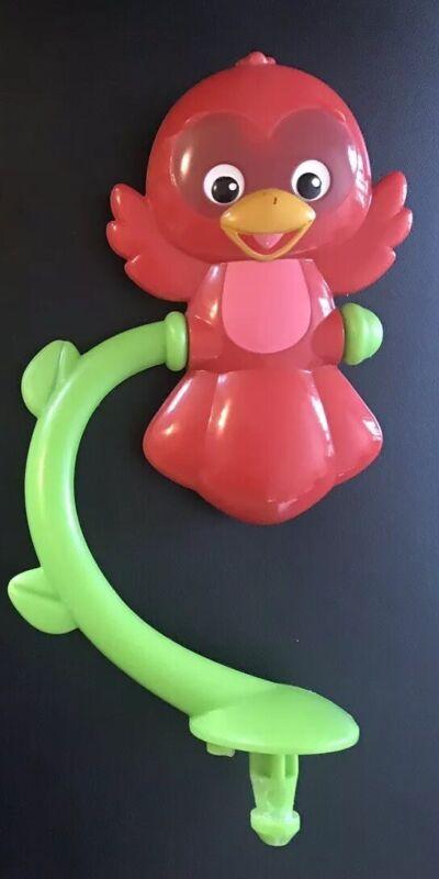 Baby Einstein Activity Jumper Red Bird Spins Spinner Toy Replacement Part