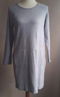 PURE J. JILL size small petite  long sleeve kangaroo pocket shift women's dress