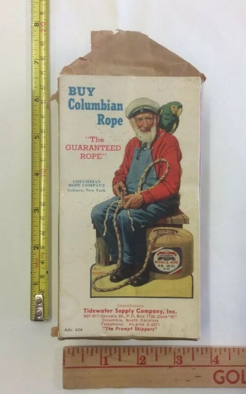 Columbian Rope Company Advertising Blotter