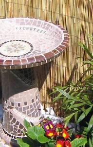 Mosaic art garden feature bird bath Mornington Peninsula Rosebud Mornington Peninsula Preview