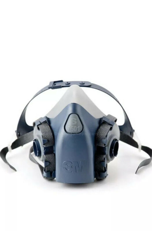 3m Respirator Without Filters 7501/Small  USA MADE Fast Shipping New