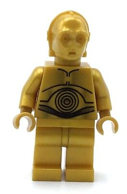 LEGO C3PO MINIFIGURE STAR WARS DROID ANAKIN COMPANION ROBOT FIG, used for sale  Shipping to Canada
