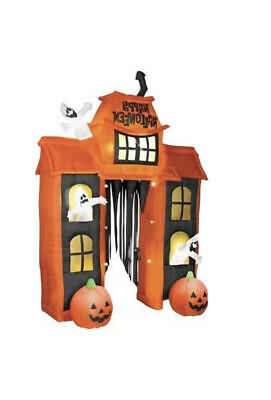 10' Halloween Inflatable Energy Efficient light Up Archway Haunted House Blowup
