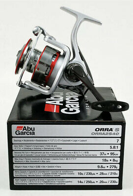 ABU GARCIA ORRA S ORRA2S40 5.8:1 GEAR RATIO SPINNING REEL