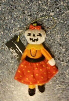 Target Halloween Ornaments (NEW Pumpkin Girl Ornament Target 2018 HALLOWEEN Decor)