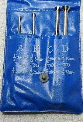 4 Pc Small Hole Gage Set .125-.500 Machinist Mechanic Tool