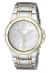 U.S. Polo Silver-Gold two tone watch.