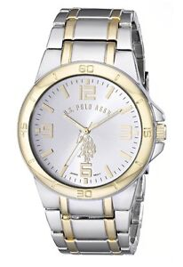 Authentic Polo  Two-tone gold and silver watch