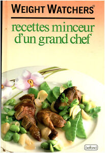 livre recettes minceur d 39 un grand chef weight watchers book ebay. Black Bedroom Furniture Sets. Home Design Ideas
