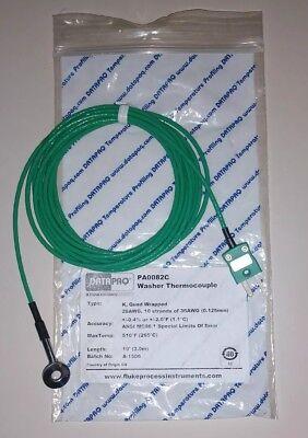 New Fluke Datapaq Pa0082c Precision Washer Thermocouple Type K Quad Wrapped