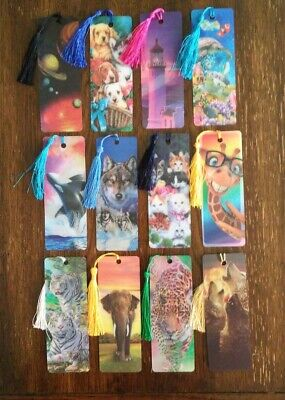 3d Bookmarks Wholesale (Bookmarks 3-d much depth in these wholesale lot of)