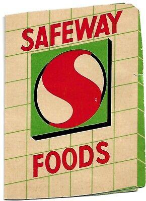 Vintage Sewing Needles (25)  in Advertising Safeway Package (1960-70'S)