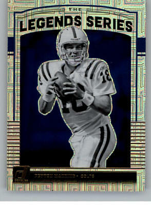 2018 Donruss The Legends Series NFL Football Cards Pick From List