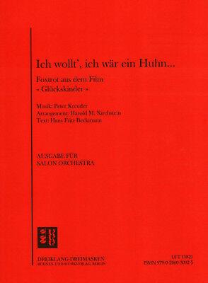 Ich wollt ich wär ein Huhn Noten Combo Salonorchester Harold M. Kirchstein (Arr.