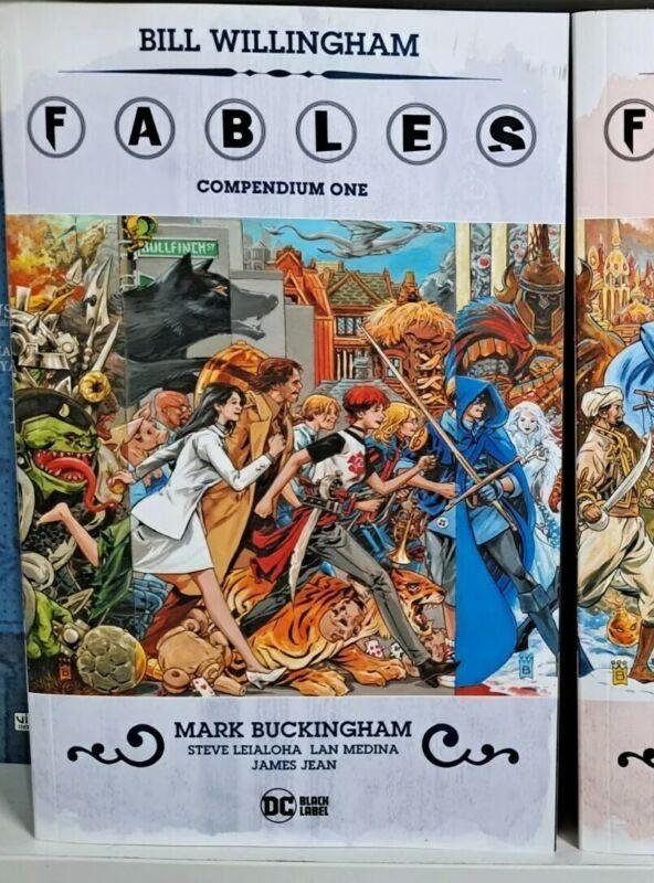 Fables Compendium Volume 1 -  New Bill Willingham