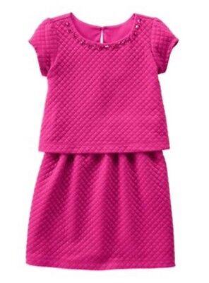 NWT Gymboree Girls Plum Pony Quilted Tiered Dress Fall Gems Size 6](Plum Girls Dress)