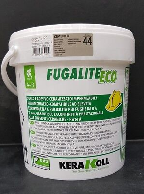 Fugalite Eco 3 kg Kera Koll Cemento/zementgrau....fliesen verfugen