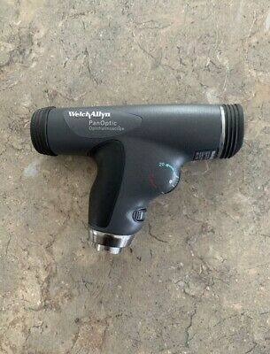 New Welch Allyn 11820 3.5v Panoptic Ophthalmoscope With Cobalt Blue