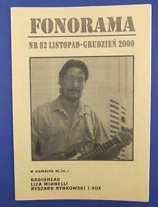 CHRIS REA - mag.FRONT cover 2000 Radiohead,Liza Minnelli - <span itemprop=availableAtOrFrom>europe, Polska</span> - Zwroty są przyjmowane - europe, Polska