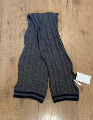 H&M  Soft Knit Little Boys Winter New - One Size Scarf Gray Soft Knit Schal