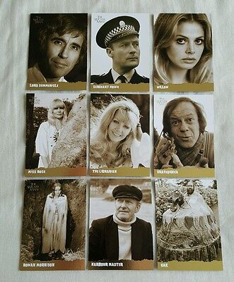 The Wicker Man Trading Card Set