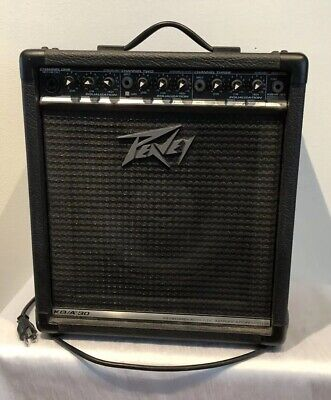 PEAVEY KB/A 30 KEYBOARD / ACOUSTIC GUITAR AMPLIFIER - WORKS