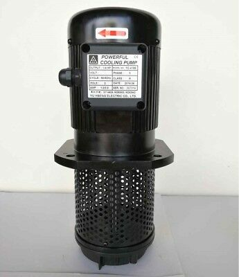 14 Hp Filtered Coolant Pump 3ph 220440v 155mm 6 Npt 34 Lathe Mill Cnc