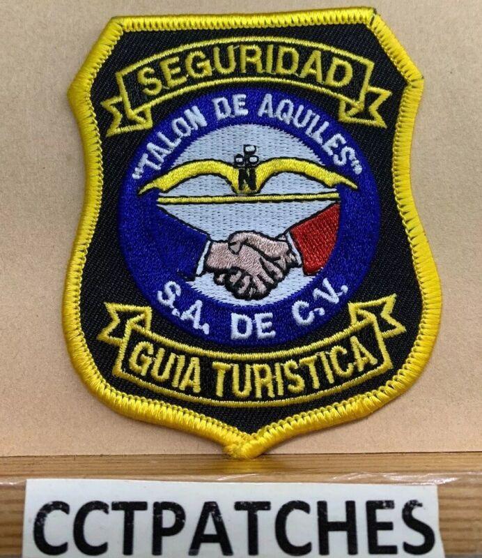 GUIA TURISTICA SEGURIDAD (SECURITY) POLICE SHOULDER PATCH