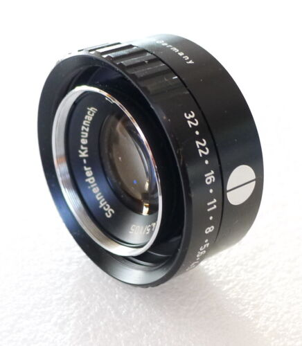 Schneider-Kreuznach Comparon 105mm f4.5 Enlarging Lens - 32mm Mount - PERFECT