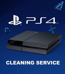 PS4 Deep Cleaning Service
