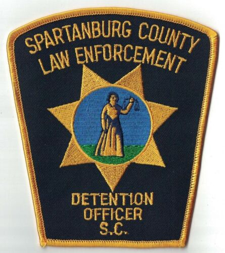 Spartanburg County law Enforcement Detention Officer Patch South Carolina SC