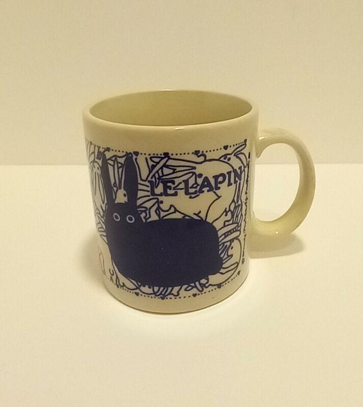 Vintage Taylor & NG Le Lapin Naughty Rabbits Orgy Mug