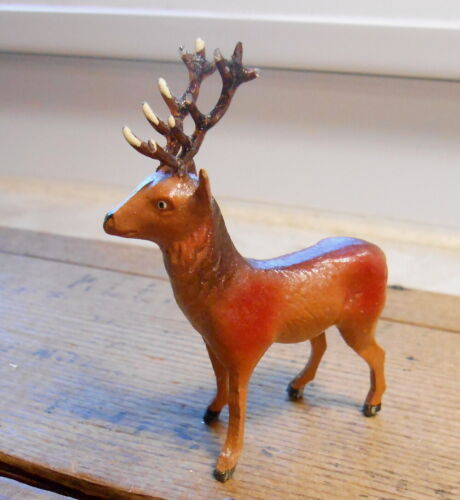 "Vintage Germany Reindeer - Small Size - 2 1/2"" tall"