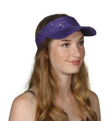 TopHeadwear Glitter Sequin Visor Hat (Various Colors)](Sequin Hats)