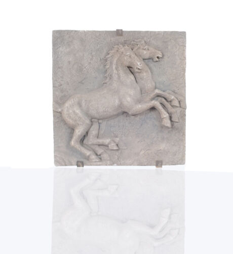 """Collectible White Horse Wall Decoration 32"""" x 32"""""""