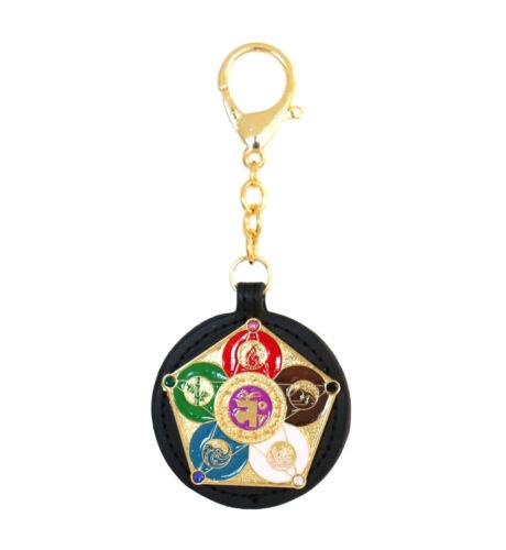 Feng Shui 5 Elements Balancing Keychain Amulet
