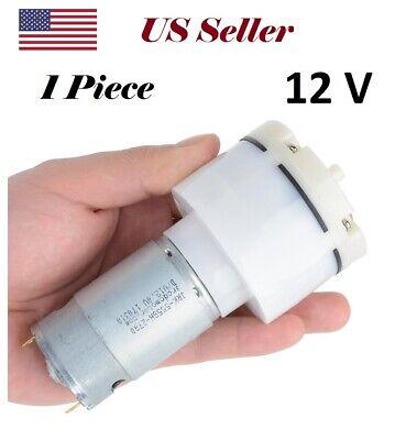 Powerfull Mini Diaphragm Single Head Air Pump - 14 Lmin 3.7gpm - 12 V Dc