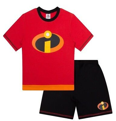 Disney Incredibles Fancy Dress Short Pyjamas PJs Pajamas