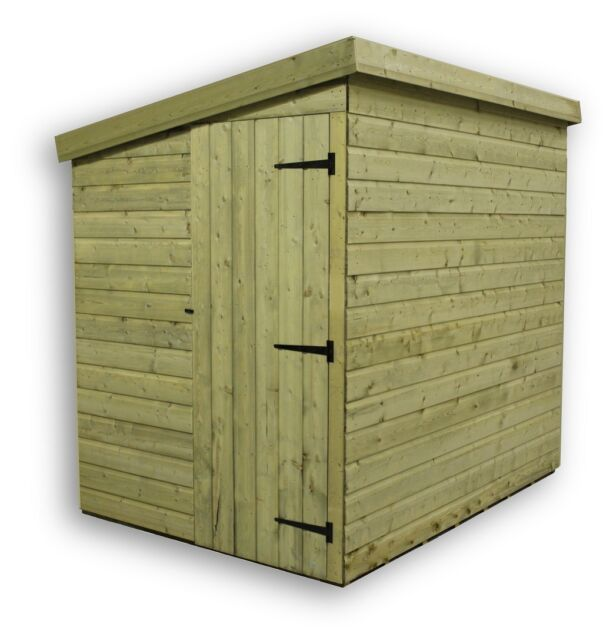 Garden Sheds 8 X 5 garden shed 8x5 shiplap pent roof wooden tanalised pressure