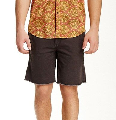 New Mens Quiksilver $55 Echo Chino Shorts Brown Size 34